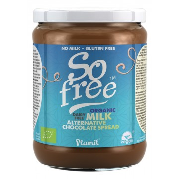 so free chocolate vegano de untar ecologico 275g