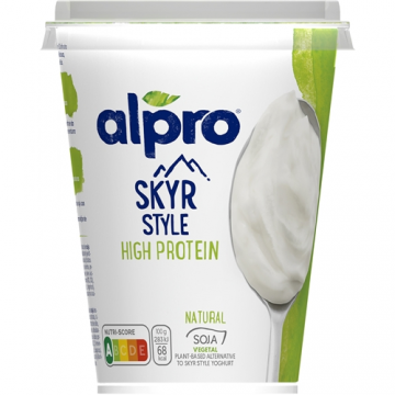 yogur vegetal estilo skyr natural 400g